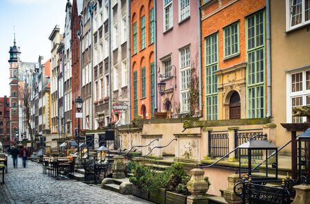 notable: Architecture of Mariacka street in Gdansk is one of the most notable tourist attractions in Gdansk.