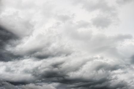 heaven?: gris tormentoso cielo nublado, nublado Foto de archivo