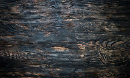brown background: empty surface of dark wooden table closeup
