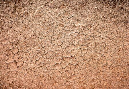 waterless: brown dry cracked ground texture