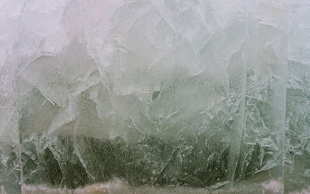 thawing: Ice thaws.Background.Cut of the thawing ice in the spring.