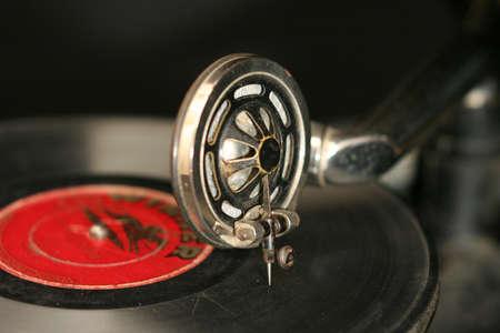 gramaphone: Old retro gramaphone