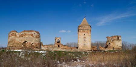 fortification: Bac medieval fortification in province Vojvodina in Serbia