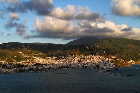 sporades: Skopelos Town, Skopelos, Sporades Islands in Greece