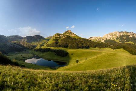 Orlovacko lake in Sutjeska national park Bosnia and herzegovina