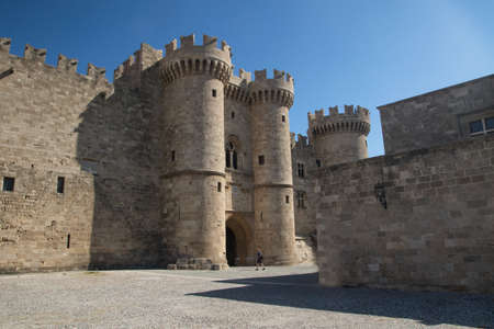 Palace of the Grand Master of the Knights of Rhodes island Greece
