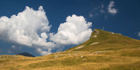 Stog summit in Sutjeska national park, Zelengora mountain