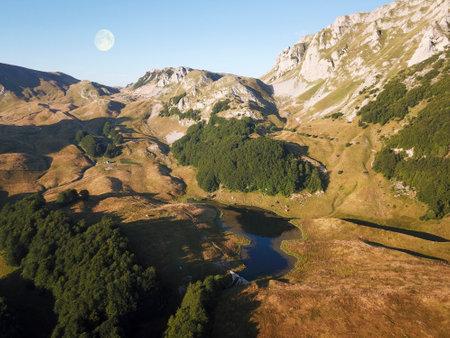 Jugovo lake in Sutjeska national park Bosnia and Herzegovina