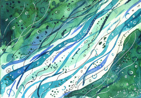 abstract watercolor background design splash.