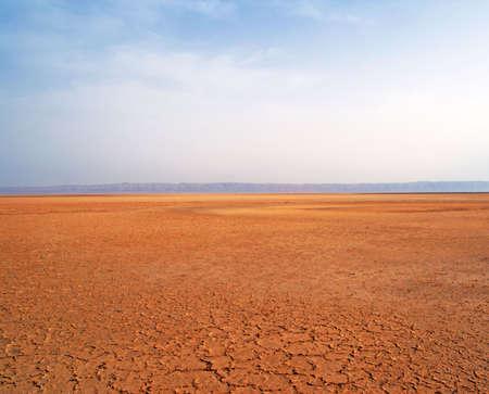 desert landscape: Sahara desert, Tunisia