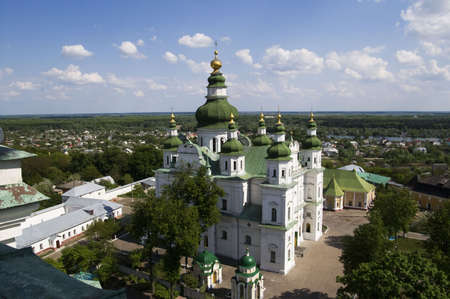 assumption: Assumption Cathedral in Eletskiy Assumption monastery in Chernigov, Ukraine