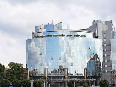 Kiev, Ukraine - June, 2007, Hyatt Opens 5-Star Hotel near Sofia Place in Kiev