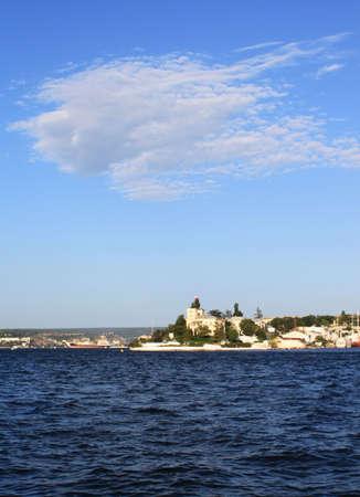 Sevastopol bay, Crimea, Ukraine