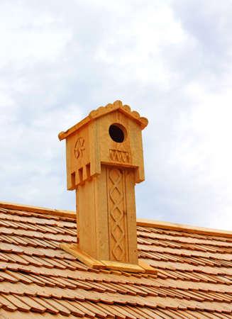 nestling: Chimney as nestling box