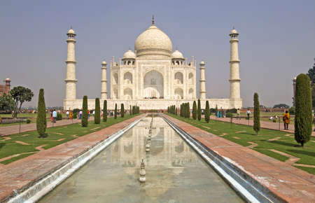 seven: Taj Mahal in Agra, India