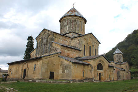 Old orthodox monastery Gelati near Kutaisi - Georgia. Unesco place.