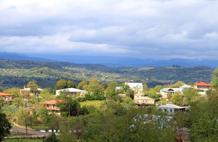 kutaisi: Villaggio vicino a Kutaisi, Georgia