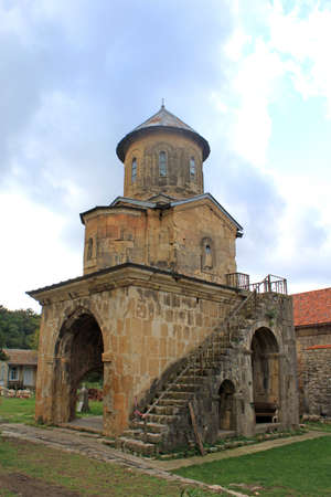 gelati: Little church in monastery Gelati near Kutaisi - Georgia. Unesco place Stock Photo