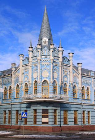 Old building in Cherkassy, Ukraine