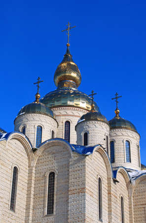Orthodox church is built in 21 centuries. Cherkassy, Ukraine. photo