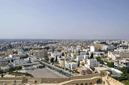 Nice view of Sousse in Tunisia Stock Photo