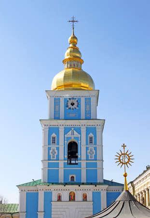 St. Michael's Bell Tower in Kiev, Ukraine Stock Photo - 9443391