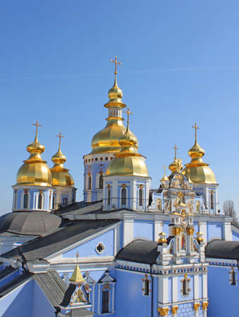 St. Michael's Golden-Domed Monastery - famous church complex in Kiev, Ukraine Stock Photo - 9443392
