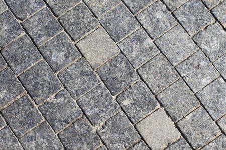 Stone roadway from granite area photo