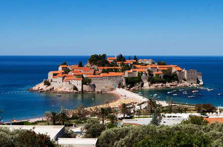sveti: Sveti Stefan (St. Stefan) island in Adriatic sea, Montenegro