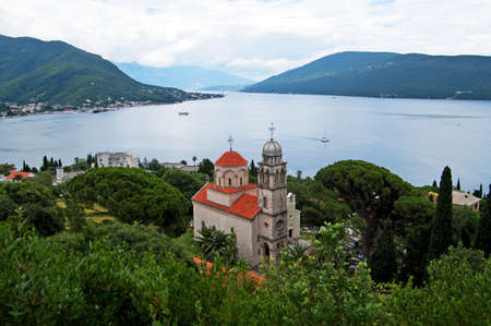 Savina Monastery is a Serb Orthodox monastery near the city Herceg Novi, Montenegro. Probably comes from the 1030 year, although the oldest record in which the monastery mentioned in 1648 photo