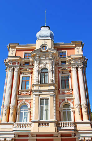 Old building in Odessa, Ukraine Stock Photo