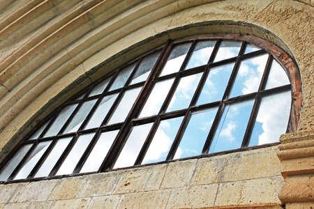 gelati: Window of old orthodox monastery Gelati near Kutaisi - Georgia. Unesco place