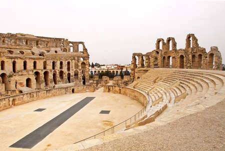 El Jem Colosseum, Tunisia photo