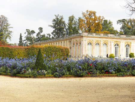 national landmark: Versailles - bellissimo castello francese e giardini. Luogo d'interesse nazionale della Francia.