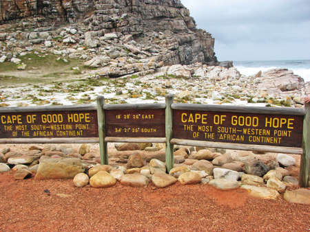 Sign of Cape of Good Hope  photo