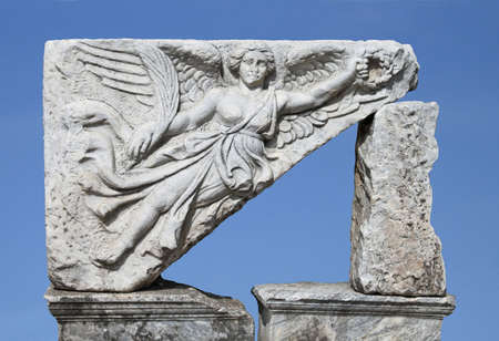 The goddess of victory (Nika), Ephesus, Turkey