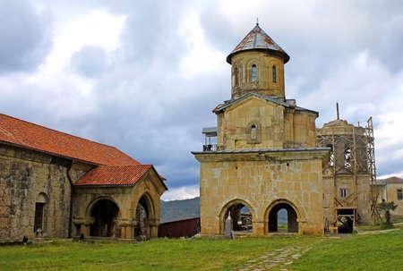 kutaisi: Vecchio monastero ortodosso Gelati vicino a Kutaisi - Georgia. Unesco posto