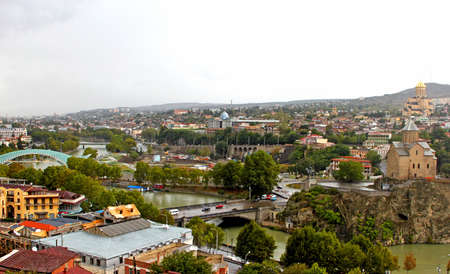Nice view of Tbilisi, Georgi Stock Photo