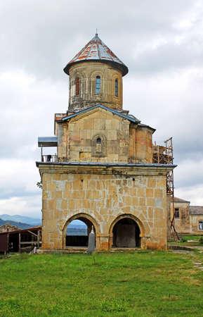 gelati: One little church of old orthodox monastery Gelati near Kutaisi - Georgia.