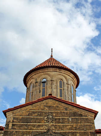 Old orthodox monastery Gelati near Kutaisi - Georgia.  photo
