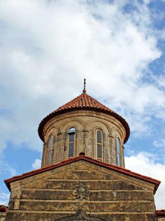gelati: Old orthodox monastery Gelati near Kutaisi - Georgia.  Stock Photo