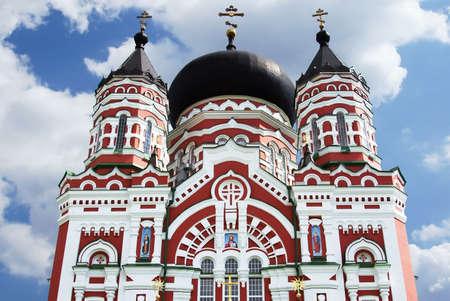 Old orthodox cathedral in Feofaniya, Kiev, Ukraine Stock Photo - 14415119