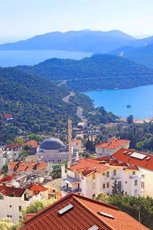 city Kas (Kash) in Turkey photo