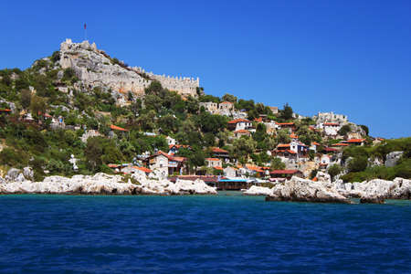 Kekova island, Turkey photo
