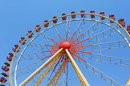 Largest ferris wheel in Ukraine  Odessa, Shevchenko Park photo
