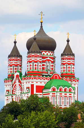 Orthodox cathedral in Feofaniya, Kiev, Ukraine Stock Photo - 15205436
