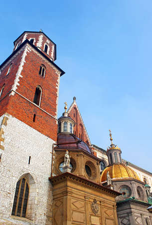 Cathedral at Wawel hill in Cracow  Poland Stock Photo - 15092677