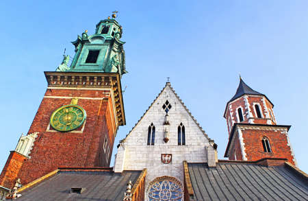 Cathedral at Wawel hill in Cracow  Poland