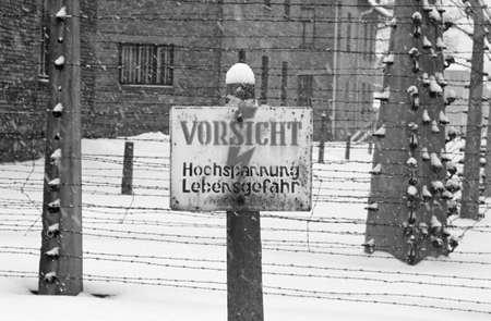 auschwitz memorial: Auschwitz Death-camp in Poland