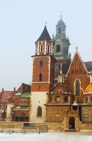 Wawel Cathedral in Krakow, Poland Stock Photo - 17121607